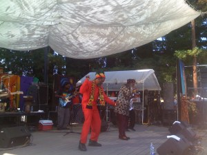 The Abyssinians Dancing at Reggae on the River 2009